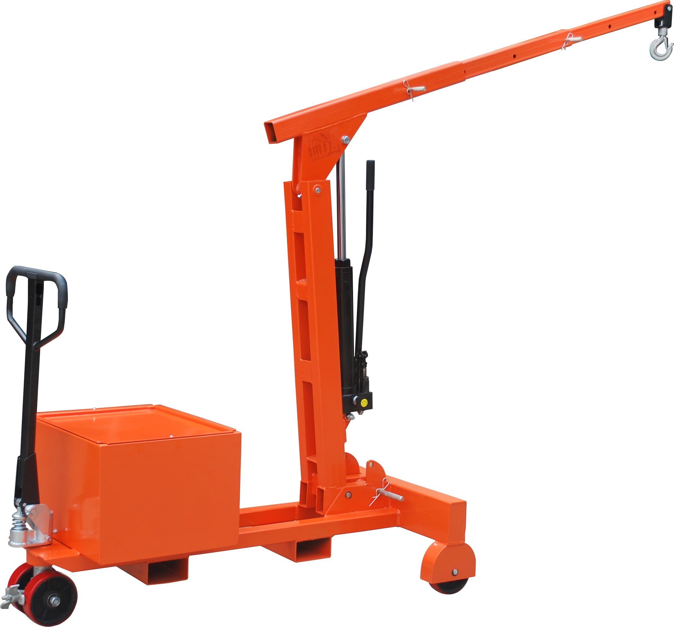 Hu-Lift LH075 Counter Balanced Shop Crane, 1650-Pound Capacity