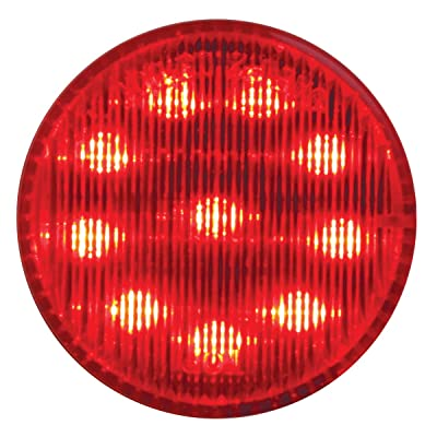 "Grand General 79281 Fleet Series 2"" Round Red LED Marker & Clearance Light For Trucks, Trailers, RVs, Buses and Utility Vehicles Round LED Marker & Clearance Light: Automotive"