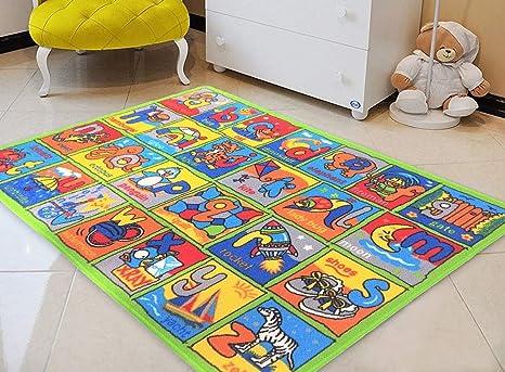 Amazon.com: ABC Alfombrilla de juegos educativa para niños ...