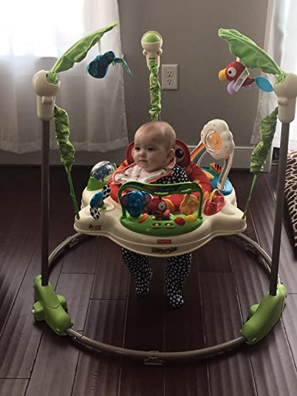 Fisher-Price Rainforest Jumperoo Fun for everyone