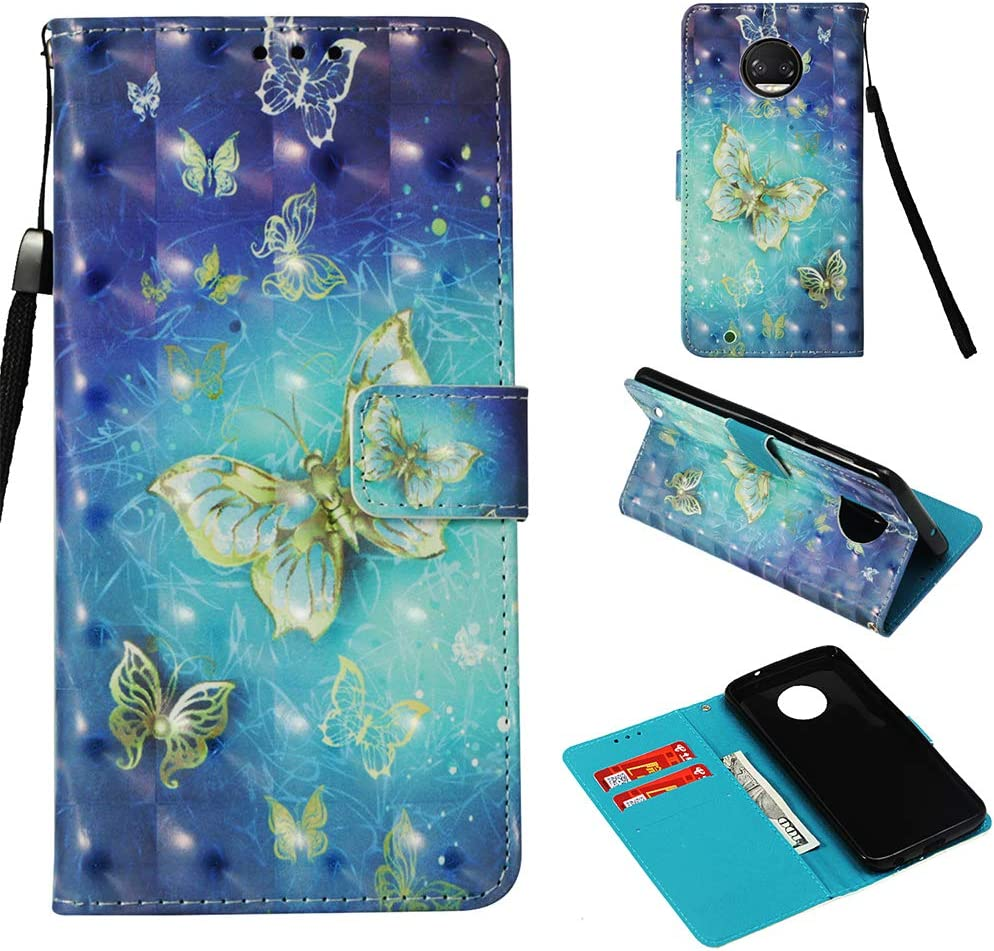 LG G7 Wallet Case PU- Colorful Owl COTDINFORCA 3D Creative Painted Effect Design Full-Body Protective Cover for LG G7 2018 // LG G7 ThinQ LG G7 ThinQ 2018 Premium PU Leather Case