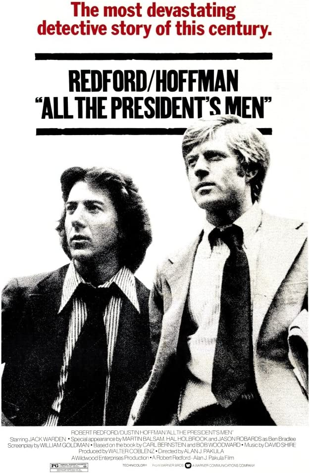 Posterazzi EVCMMDALTHEC014 All The President'S Men Movie Poster Masterprint, 11 x 17