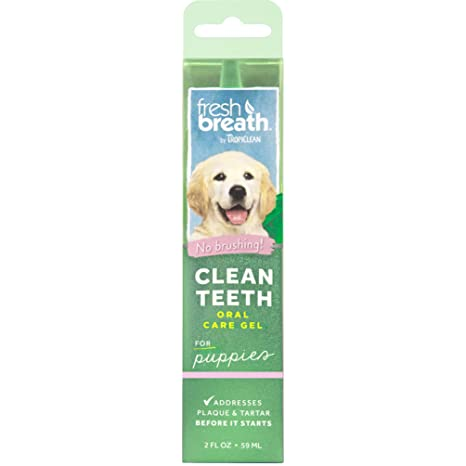 TROPICLEAN Fresh Breath, Gel de Dientes para Perros, 59 ml