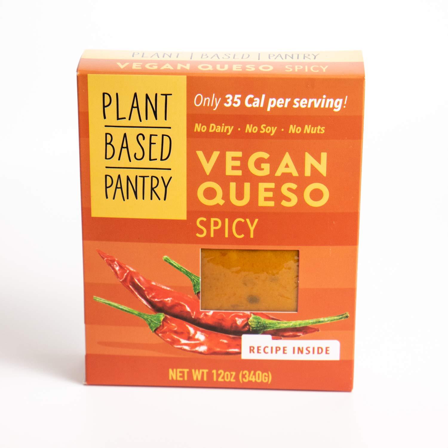 Vegan Queso Spicy by Plantbased Pantry