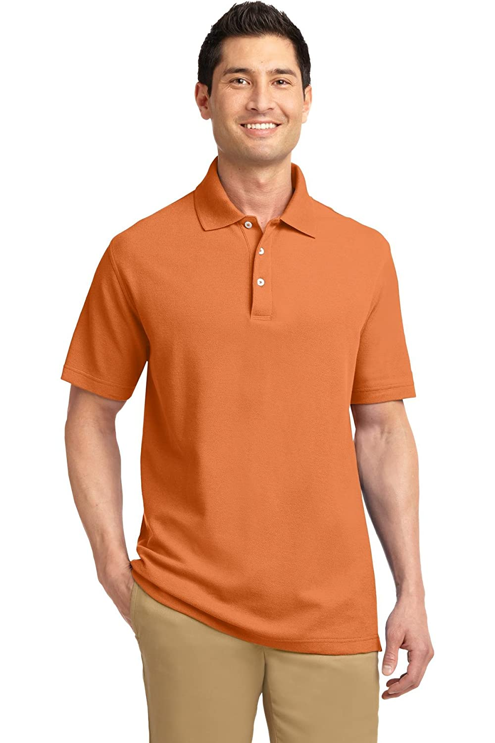 Port Authority Mens EZCotton Pique Polo