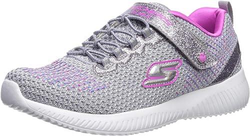 Descodificar por favor no lo hagas pulgada  Amazon.com | Skechers Kids' Bobs Squad-Glitter Madness Sneaker ...