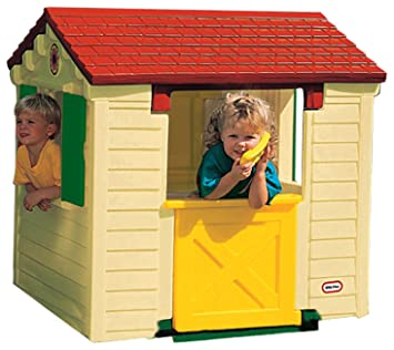 Little Tikes Playhouse Natural Amazoncouk Toys Games