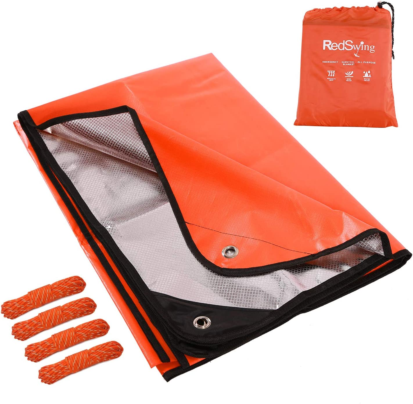 Lifesystems Heatshield Reusable Emergency Thermal Survival Space Blankets