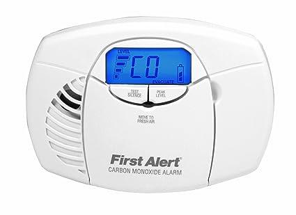 First Alert - Detector de monóxido de carbono [Importado de Reino Unido]