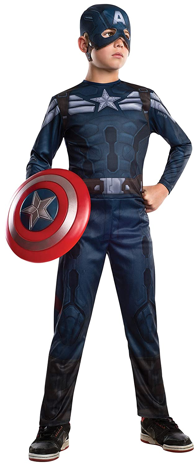 Rubies Captain America: The Winter Soldier Stealth Suit Costume, Child Medium