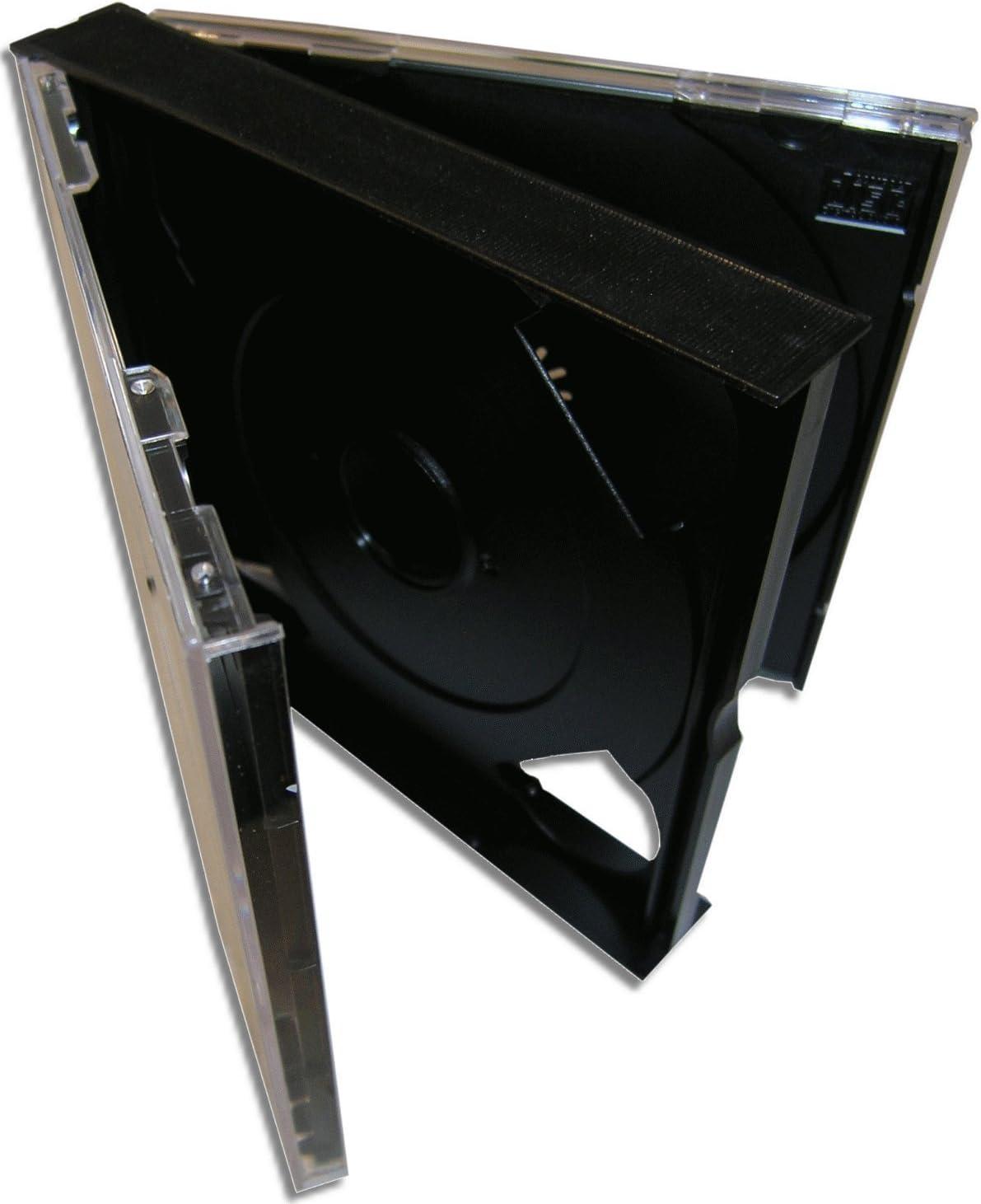 10 Cajas para Triple CD -GRUESAS- / Ref.2082: Amazon.es: Electrónica