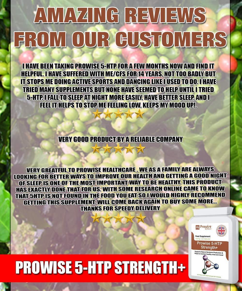 Amazon.com: 5-HTP 100 mg – 90 cápsulas vegetarianas – Ayuda ...