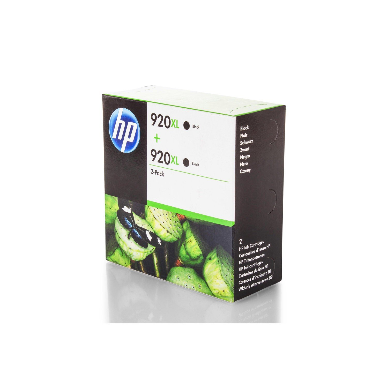 d67d44caaa3749 Ink Economy Set Original HP Nr. 920 for HP OfficeJet 6500 Plus Series    D8J47AE inks Saver Set 2 x black - 1200 Pages-Pack of 2  Amazon.co.uk   Office ...