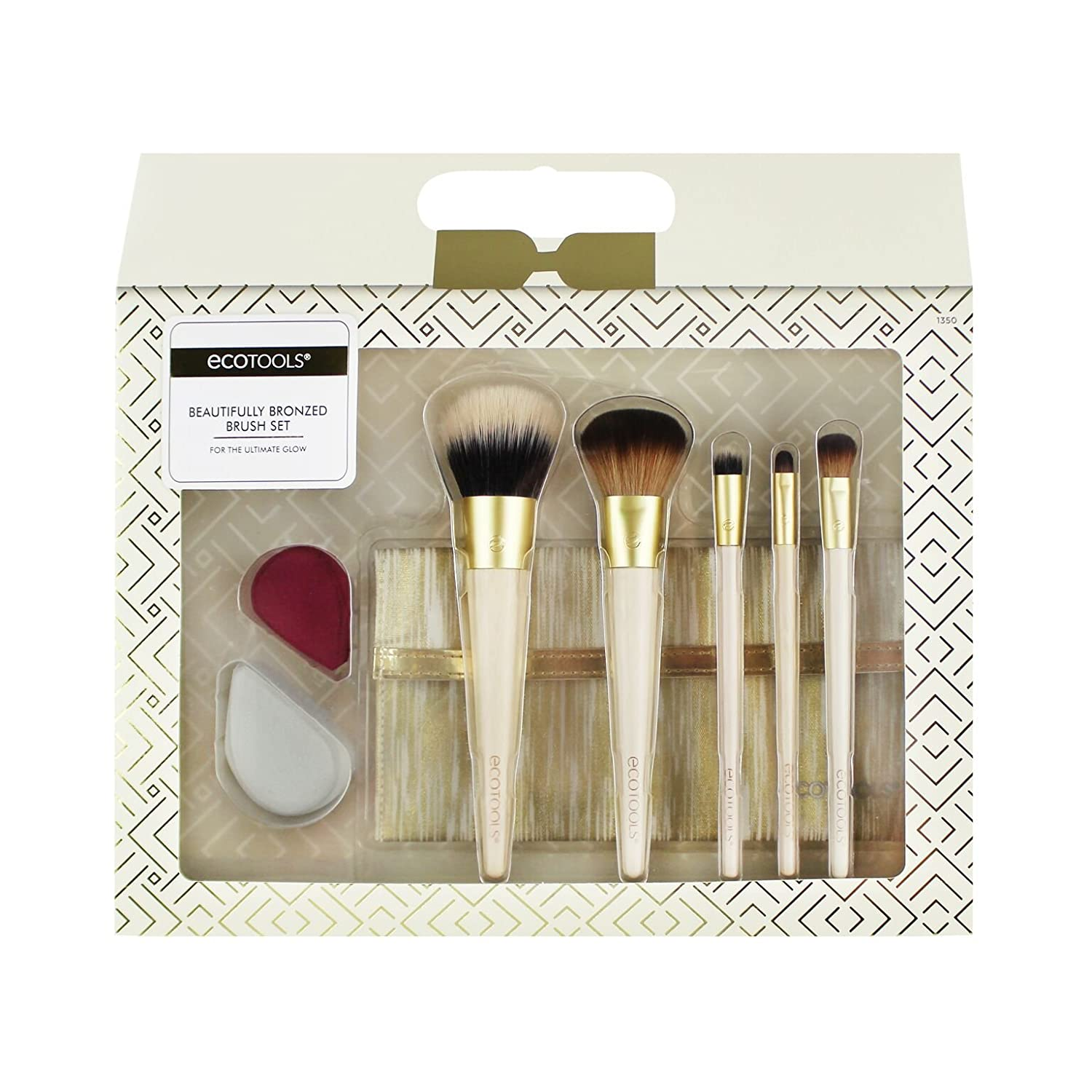 EcoTools Holiday Beautifully Bronzed Brush Set Paris Presents Incorporated