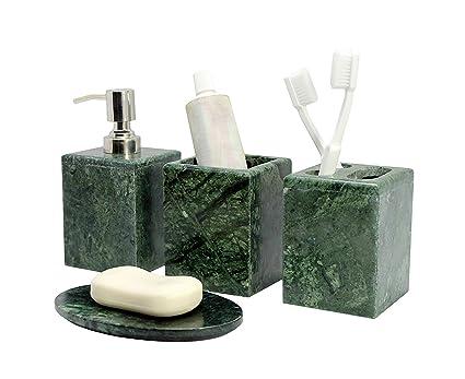 Accessori Bagno Di Lusso.Set Accessori Bagno Di Lusso Kleo Da 4 Pezzi Include Dispenser