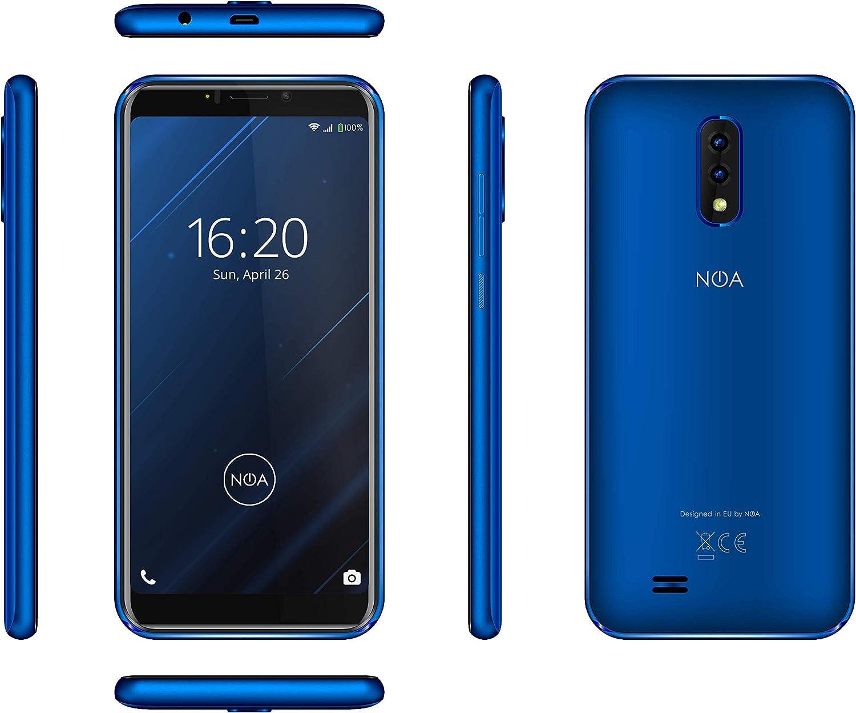 Noa Vivo 4G Blue - Smartphone libre (5,45 pulgadas, doble SIM, 16 ...