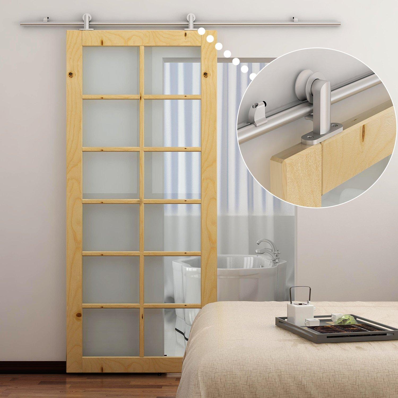Puertas correderas colgantes aprende a instalar sistemas - Correderas para puertas corredizas ...