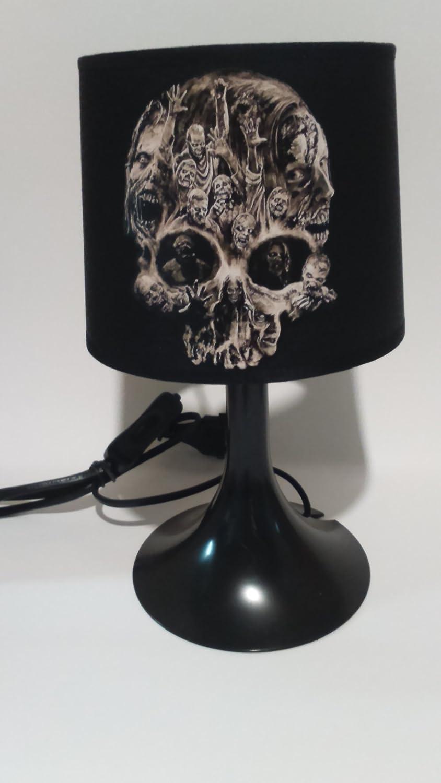 De Création Lampe Chevet Dead L'idée'all Tete 0wn8mn Skull Mort Walking 9IHYD2WE
