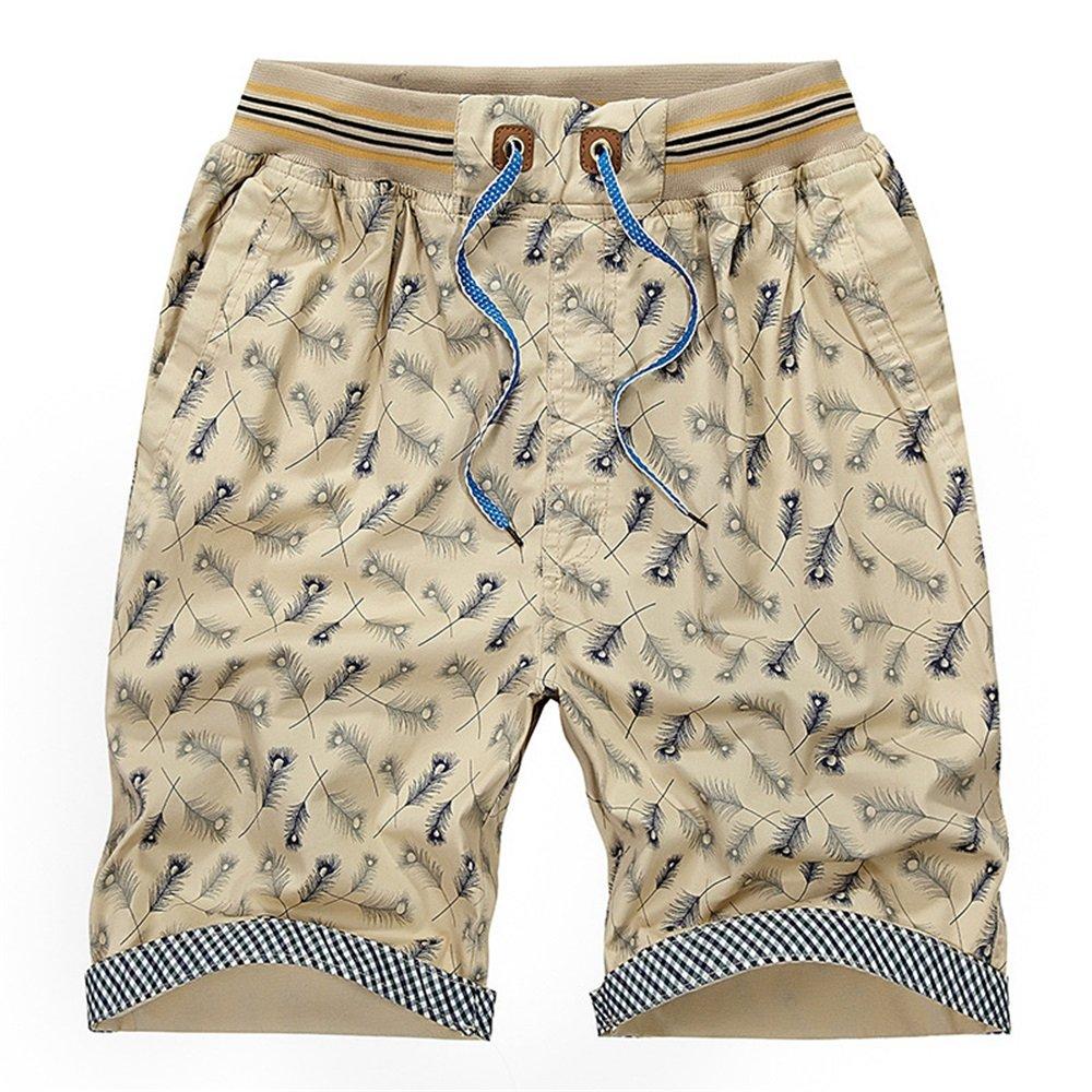 84d2556efa Bright yellow Men's Swim Trunks Trunks Trunks Board Shorts Mens Leisure  Sports Summer Cotton Loose Beach Pants Thin Men's Sweatpants (color Bright  Yellow, ...