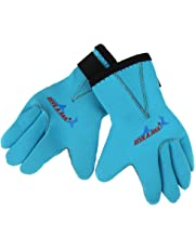 20ba1625ac Sharplace Unisex Children Kids 3mm Neoprene Skid-proof Warm Wetsuit Gloves  for Scuba Diving Swimming