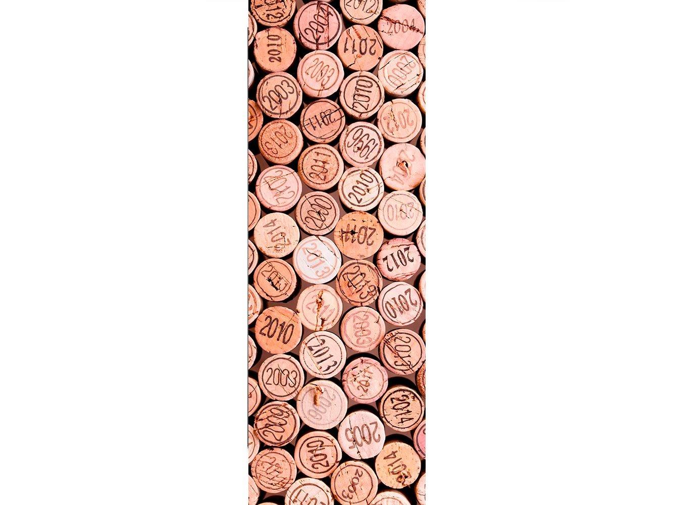 Oedim Vinilo para Frigorífico Corchos Botellas 185 x 60 cm ...