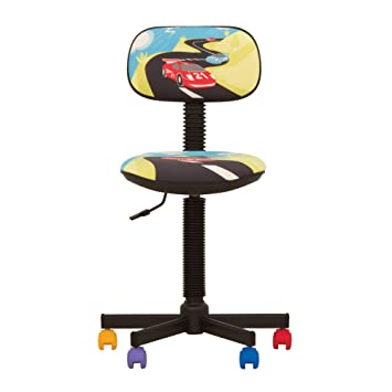 Bambo – Silla de escritorio infantil ergonómica, altura del asiento 42 cm-56 cm