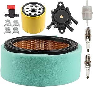 ATVATP 24 083 03-S1 Air Filter for Kohler CH18 CH20 CH22 CH23 CH25 CH620 CH640 CH641 CH670 CH680 CH730 CH740 CH745 CH750 Engine & 24 083 02-S Pre Cleaner 52 050 02-S Oil Filter 24 393 16S Fuel Pump
