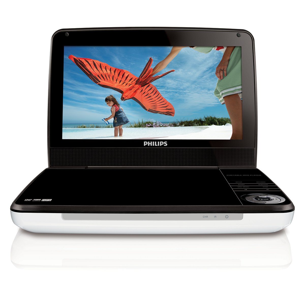 Philips PD9000/37 9-Inch LCD Portable DVD Player,White リージョンフリー 並行輸入品   B003CY0SR6