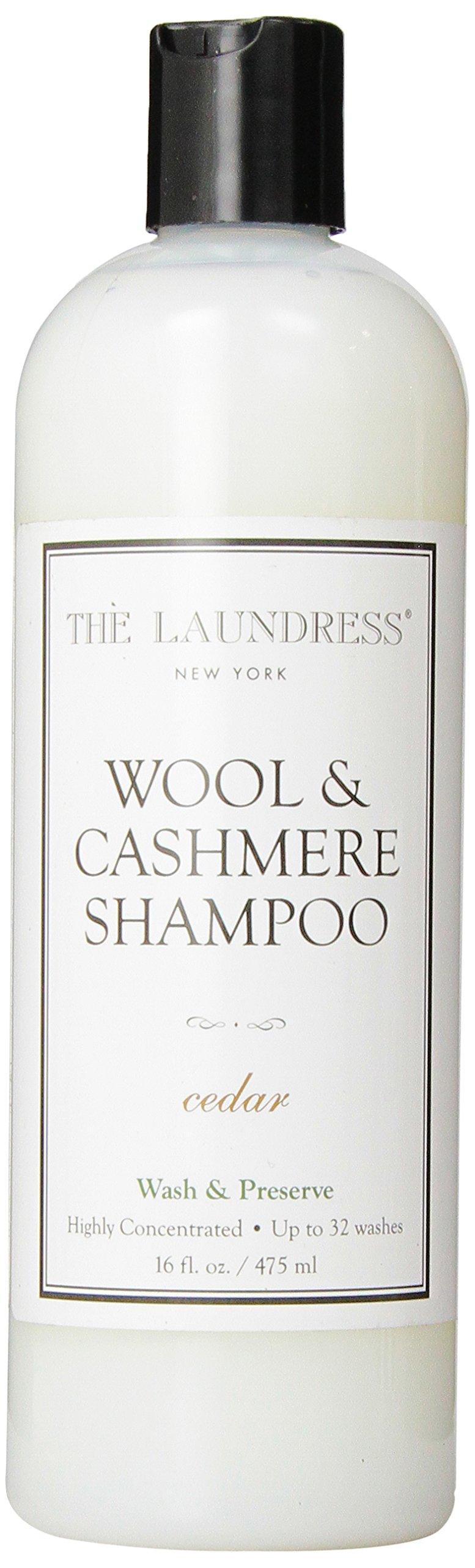 The Laundress Wool & Cashmere Shampoo, Cedar, 16 fl. oz. – 32 loads