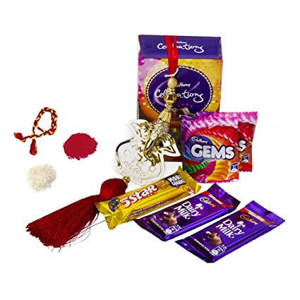 Image Unavailable. Image not available for. Colour: Celebrations Ganesha Blessed Bhai Dooj Gift