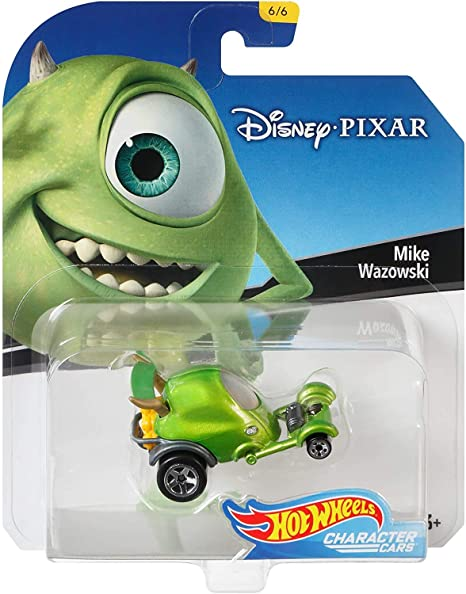 Elsa Maleficent with Michey Mouse 2018 Hot Wheels Set of 6 Disney 1//64 Character Cars Collectible Die Cast Toy Cars Mike Wazowski. Winnie The Pooh Jack Skellington