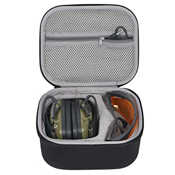 Carrying Case Hard Bag for Howard Leight Impact Sport OD Electric Earmuff