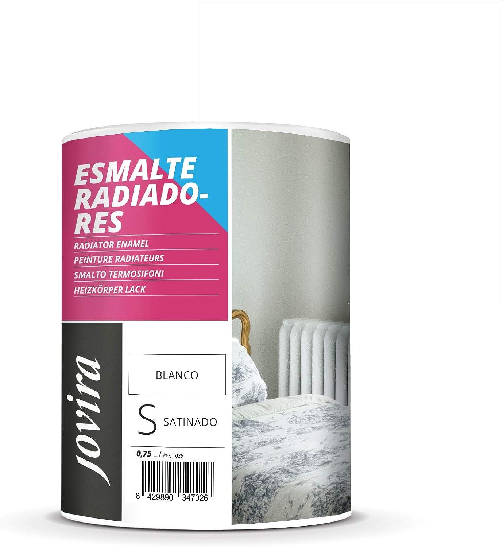 PINTURA ESMALTE RADIADORES AL AGUA Decora y protege toda clase de radiadores por agua y tuberías de calefacción. 750 ML (BLANCO)