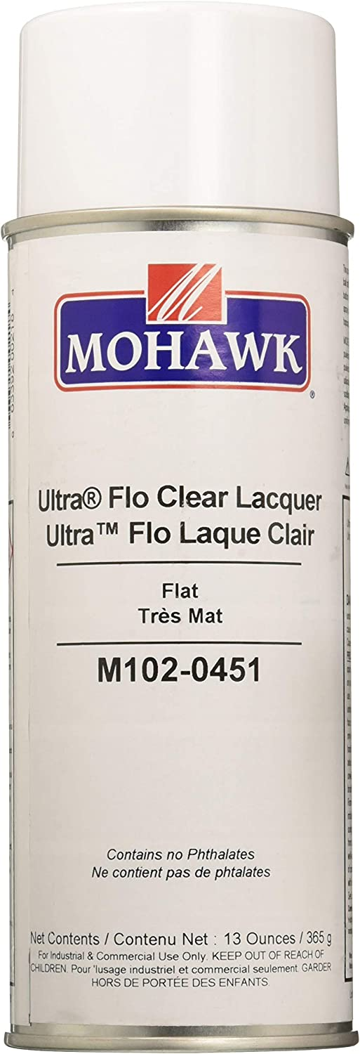 Mohawk Finishing Products M102-0451 Finisher's Choice Clear Nitrocellulose Lacquer - Flat