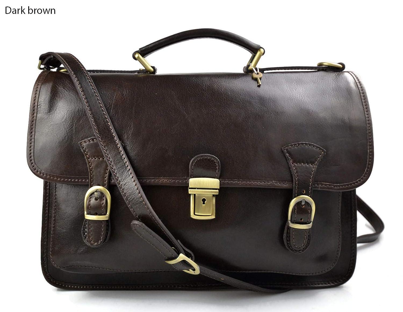 Briefcase leather office bag backpack shoulder bag conference bag mens business bag leatherbag brown leather brifecase women leather bag