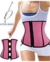 Special Workout Hot Body Shaper Neoprene Waist Trainer Cincher Steel Boned Back Support For Weight Loss