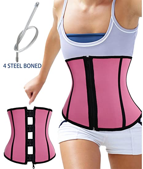 21bb0c0238bb6 Special Workout Hot Body Shaper Neoprene Waist Trainer Cincher Steel Boned  Back Support for Weight Loss