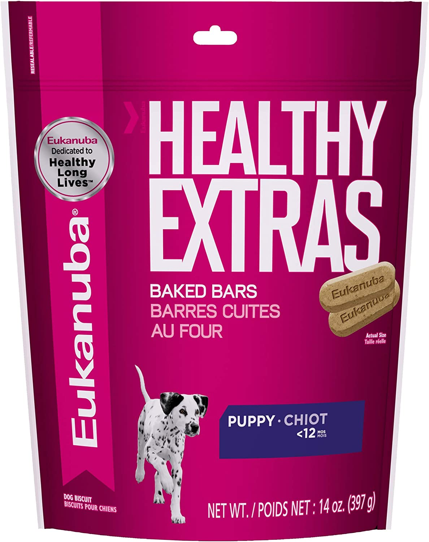 EUKANUBA Healthy Extras Puppy Dog Treats, 14 oz bag