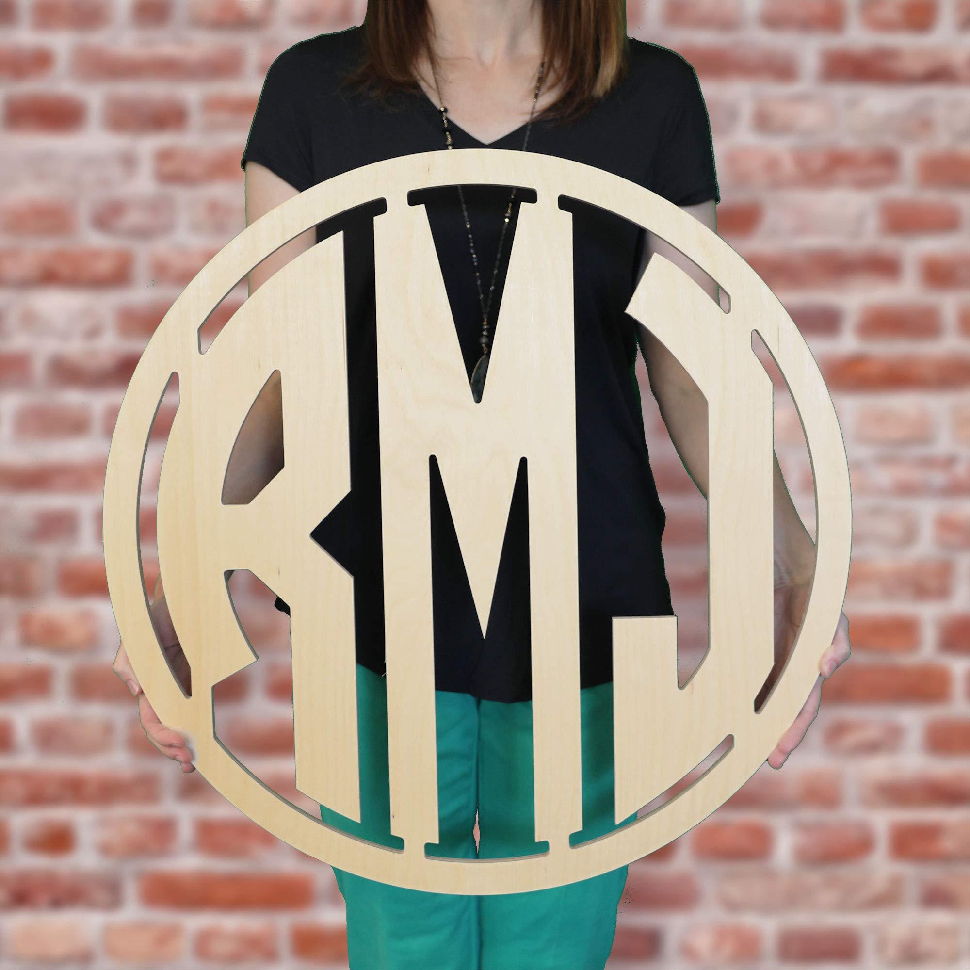 SALE 12-36 inch MODERN Wooden Monogram Letters Vine Room Decor Nursery Decor Wooden Monogram Wall Art Large Wood monogram wall hanging wood LARGE