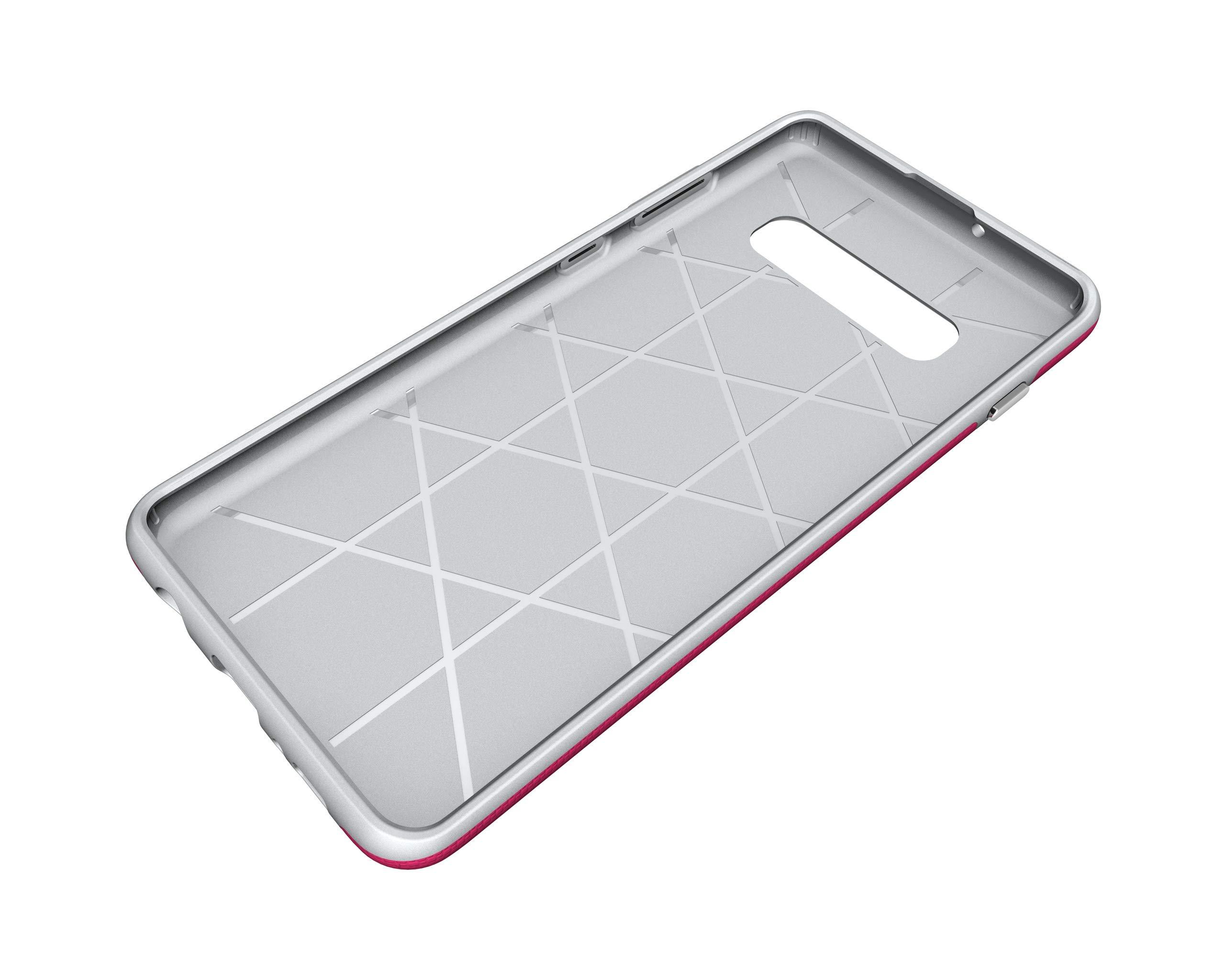 NOMO Galaxy S10 Case,Samsung S10 Hybrid Defender Armor Case,Dual Layer Protective Phone Case,Full Body Rugged Case,Non-Slip Drop Protection Shock Proof Case for Samsung Galaxy S10 Hot Pink by NOMO (Image #6)