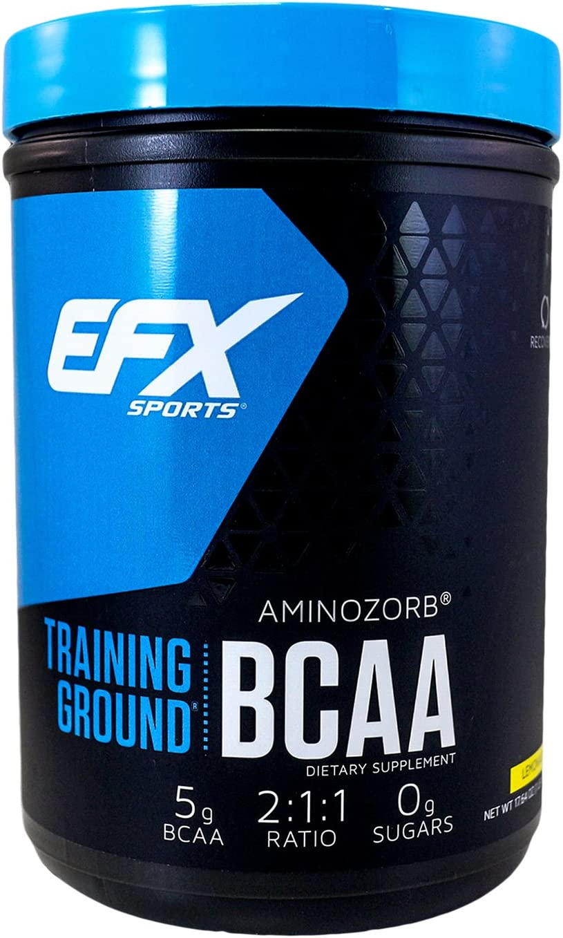 EFX Sports Training Ground BCAA Powder, Lemonade, 500 Gram
