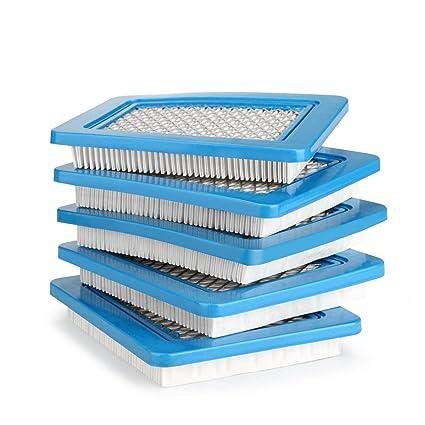 AGPTEK 5 filtros de aire de repuesto, filtro de aire de repuesto premium duradero para