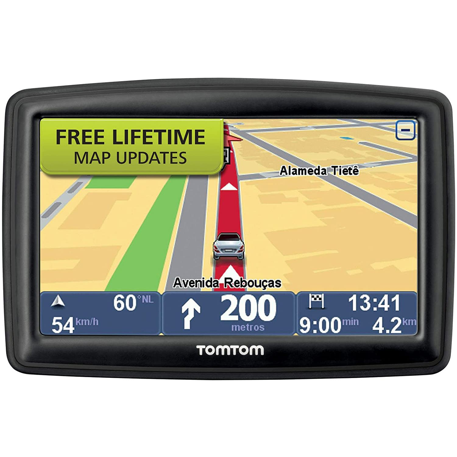 TomTom START M Inch GPS Navigator With Lifetime Maps And - Tomtom gps usa map download free