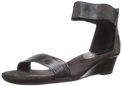 A2 by Aerosoles Women's Yet Around Wedge Sandal, Black, ...