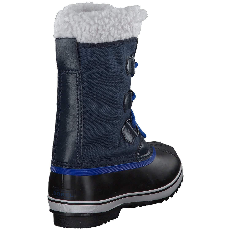 Sorel Yoot Pac Nylon Boot - Boys' Collegiate Navy/Super Blue, 6.0 by Sorel (Image #6)