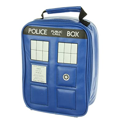 Doctor Who Police Tardis Navy Blue Insulated Lunchbox Cooler Bag: Clothing