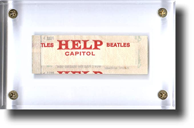The Beatles Collectibles: HELP! 1965 Promotional Bandage, ORIGINAL Rare Movie Memorabilia – Perfect