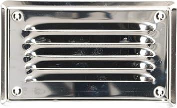 Météo grille de protection 100 MM de chrome et nickel acier
