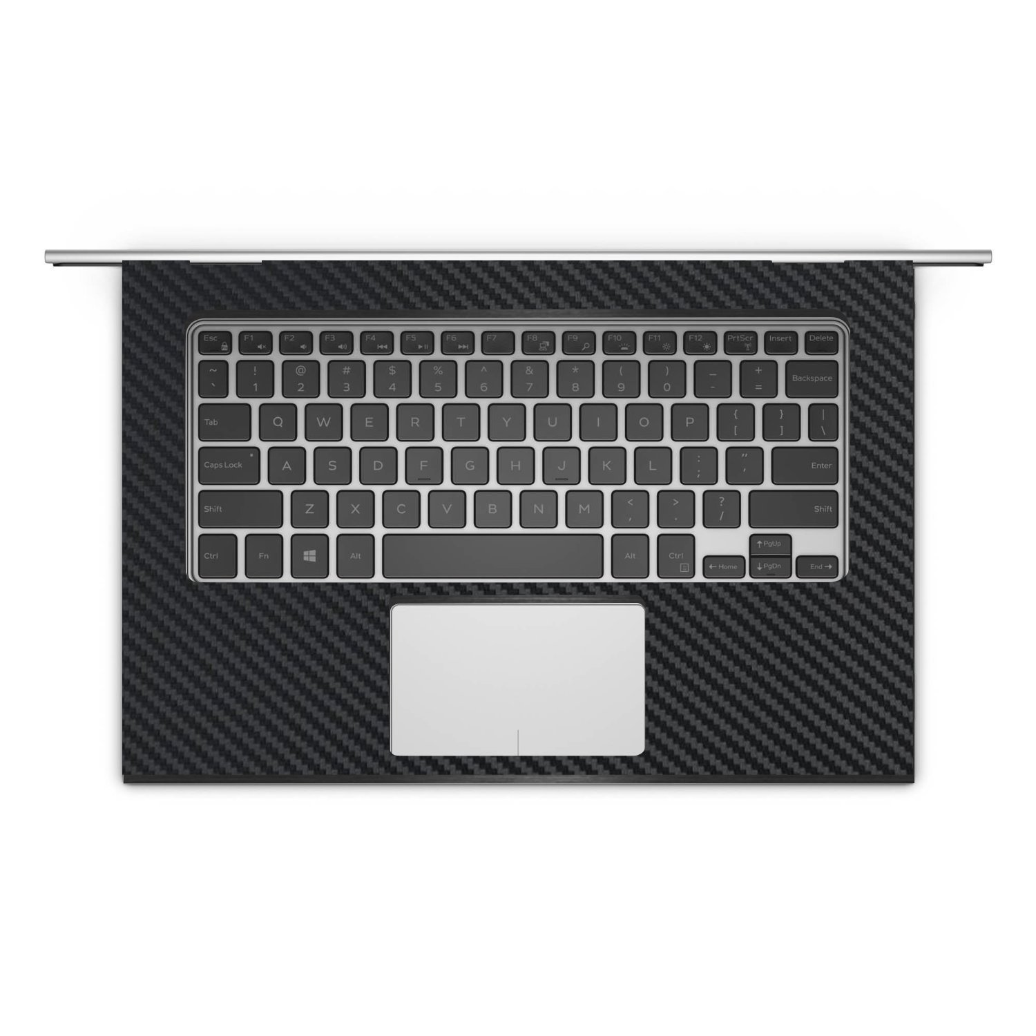 "Black Carbon Skin Cover Guard for Dell Inspiron 15 7559 15 6"" Laptop"
