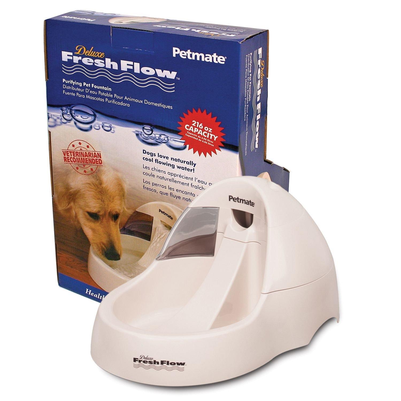 Deluxe Fresh Flow Dog 216oz Bleached Linen 17.4'' x 14.4'' x 8'' (3 Pack)